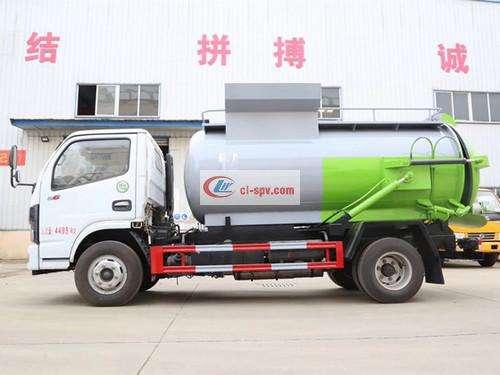 Dongfeng Guoliu 5 Fang Kitchen Garbage Truck Picture