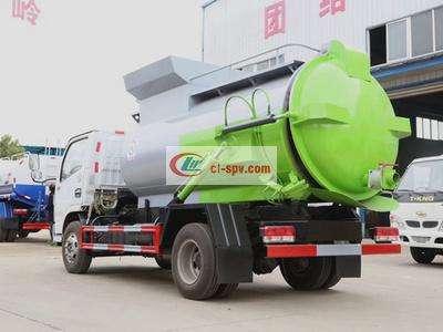 东风国六5方餐厨垃圾车图片