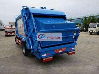 东风小多利卡5方压缩式垃圾车图片
