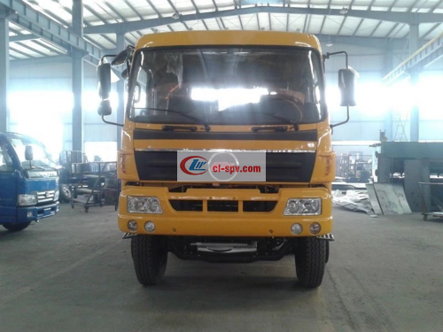 Chufeng brand front four rear eight flatbed transport truck pictures