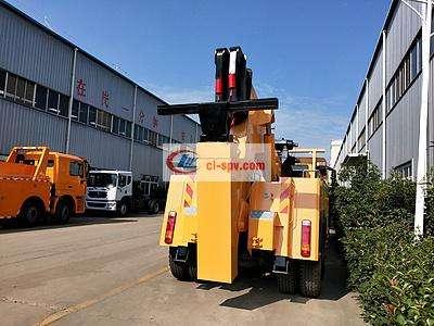 25吨-30吨重汽豪沃前四后八重型清障救援拖车图片