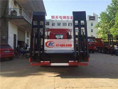 江淮单桥15吨平板车图片