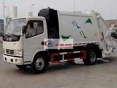 东风小多利卡8方压缩式垃圾车图片