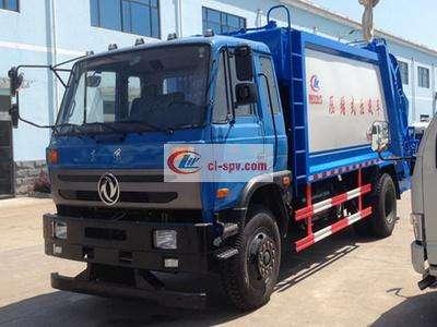 东风153(12吨)压缩式垃圾车图片