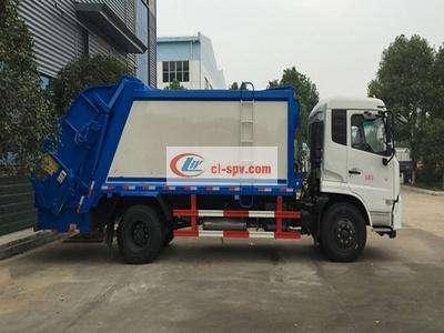 东风12吨压缩式垃圾车图片