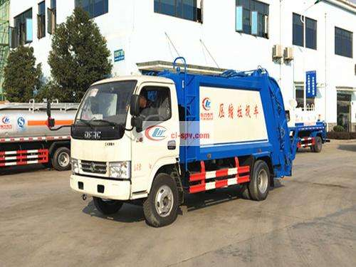 Picture of Dongfeng Duolika 8-square compression garbage truck