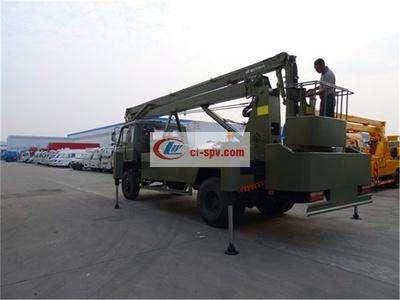 东风153型20米高空作业车图片