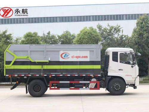 Picture of Dongfeng Tianjin State Six Compression Docking Garbage Truck