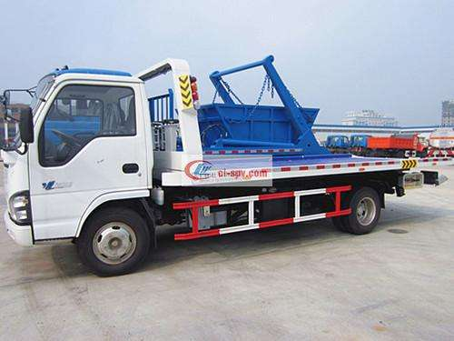 Qingling Isuzu Flatbed Wrecker Truck Picture