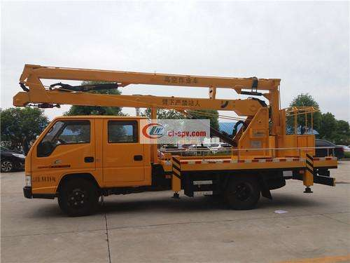 Picture of Jiangling 14m Aerial Operating Truck