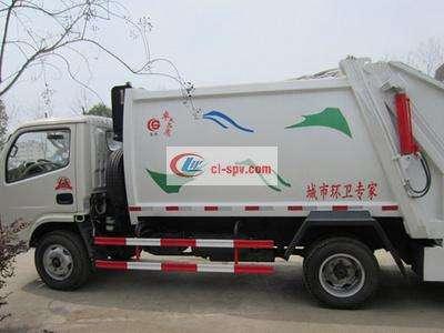 东风小多利卡压缩式垃圾车图片