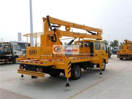 Isuzu 14m Aerial Operating Truck Picture