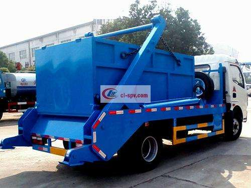 Dongfeng Dolica 5 Side Swing Arm Garbage Truck Picture