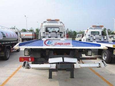 5吨东风天锦平板清障车(国4)图片
