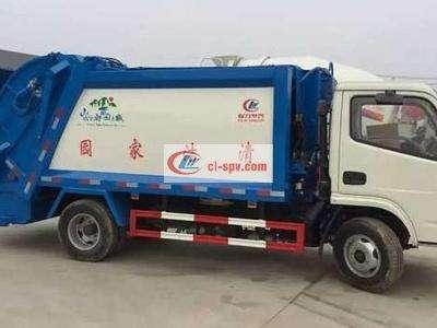 庆铃 Isuzu 5吨压缩垃圾车图片