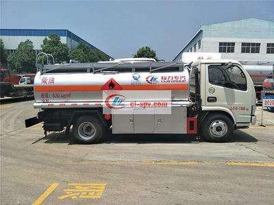 东风凯普特5吨油罐车图片