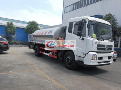 国五东风天锦10吨沥青撒布车(全智能型)图片