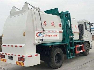 东风天锦10方餐厨垃圾车图片