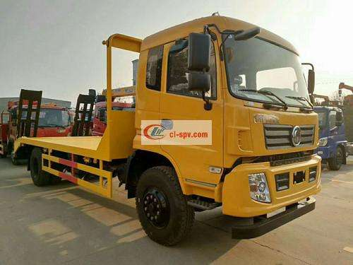 Dongfeng Special Bottom Flatbed Transport Truck Picture