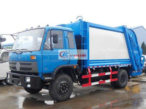 Picture of Dongfeng 153 Compression Docking Garbage Truck