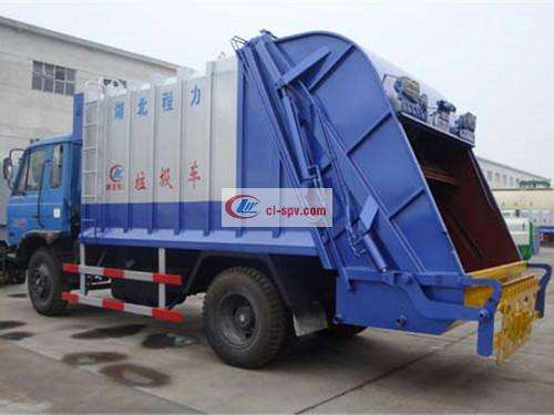 Picture of Dongfeng 145 Compression Docking Garbage Truck