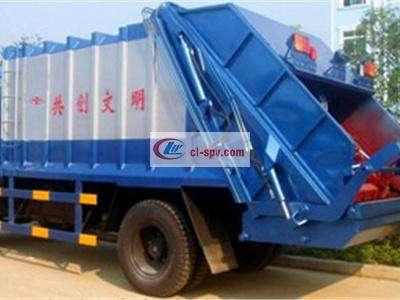 东风145压缩式对接垃圾车图片