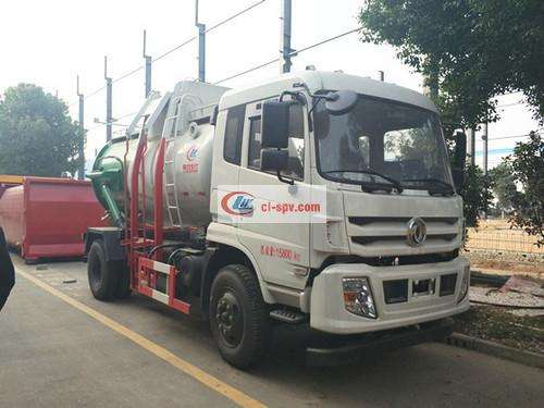Picture of Dongfeng Special Commercial 10 Square Kitchen Garbage Truck