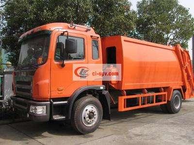 江淮12吨压缩式垃圾车图片