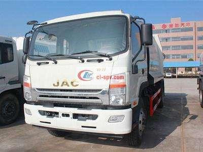 江淮5吨压缩式垃圾车图片