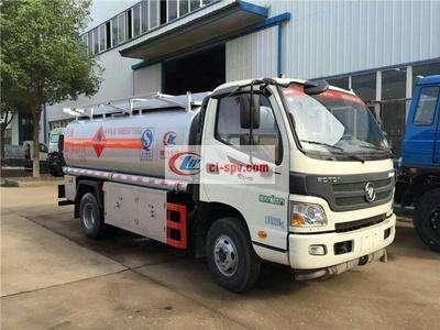 福田欧马可5吨油罐车图片