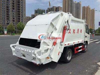 凯马4方压缩垃圾车图片