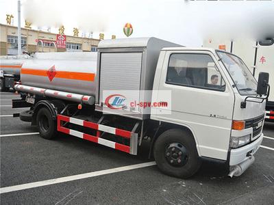 江铃4吨5吨油罐车图片