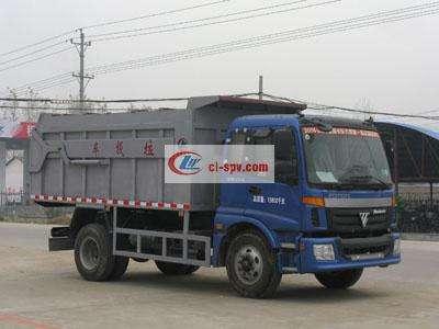 福田10方对接式垃圾车图片