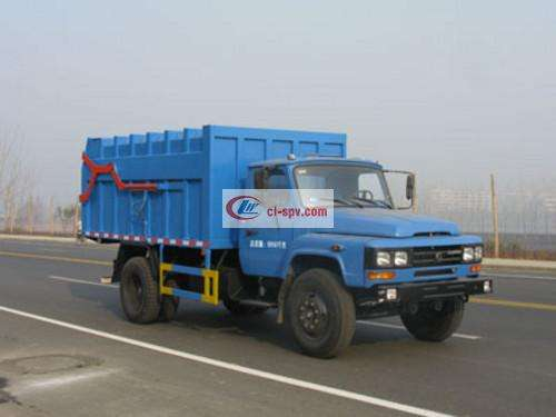 Dongfeng 140 docking garbage truck pictures