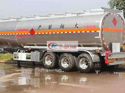 45方铝合金运油半挂车图片
