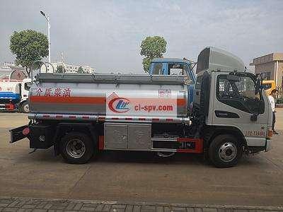 江淮骏铃4吨加油车图片