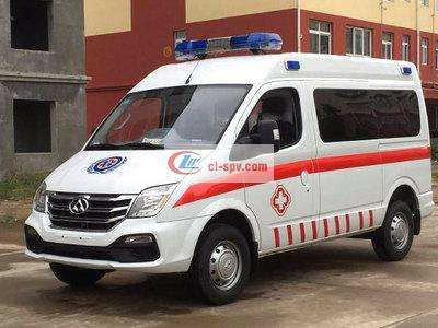 大通长轴监护型救护车图片