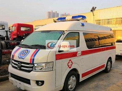 福田救护车福田G7救护车图片