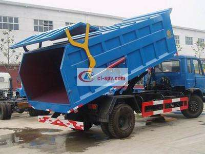 东风153 对接式垃圾车图片