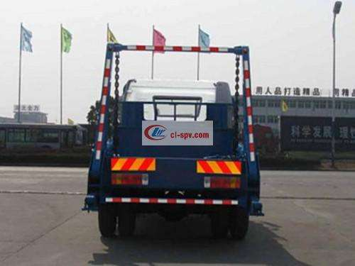 Jiefang J6 10 square swing arm garbage truck picture