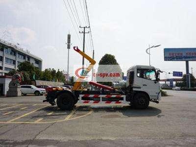 东风天锦20吨勾臂车图片