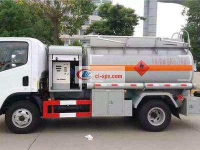 解放虎V5吨油罐车图片