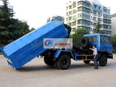 东风153  12方勾臂垃圾车图片