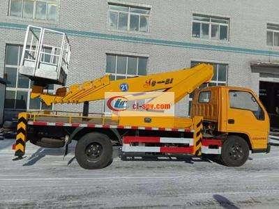 国六江铃 small 21米高空作业车图片