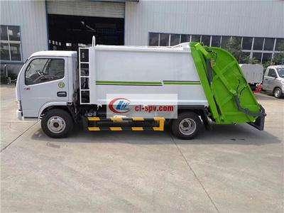 东风5吨压缩垃圾车图片