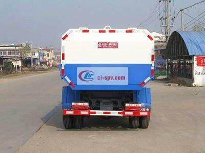 东风5方挂桶垃圾车图片