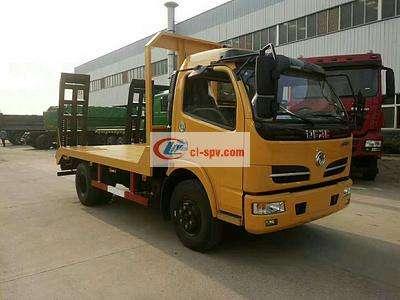 东风福瑞卡8吨平板运输车图片