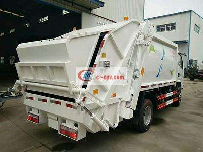 东风福瑞卡带三角斗6方压缩垃圾车 云内115马力图片