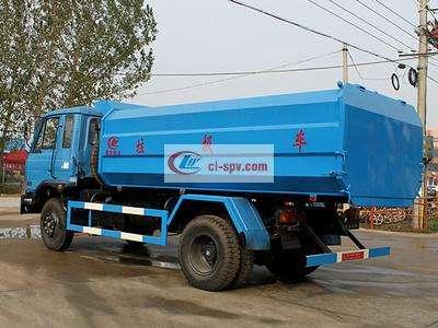 东风12方挂桶垃圾车图片