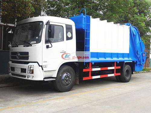 Picture of Dongfeng Tianjin 12 Ton Compression Garbage Truck